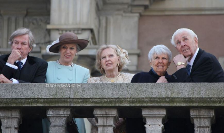 Princess Benedikte and Countess Marianne Bernadotte, April 30, 2016 Photo taken by Sofia Svanholm | Royal Hats
