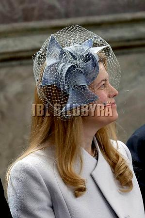 Princess Kelly of Saxe-Coburg and Gotha, April 30, 2016 | Royal Hats