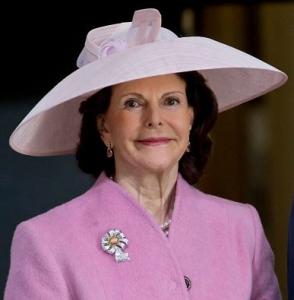 Queen Silvia, April 30, 2016 in Philip Treacy | Royal Hats