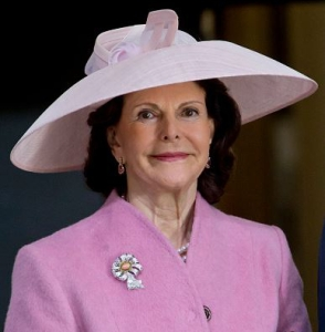 Queen Silvia, April 30, 2016 in Philip Treacy | Royal Hats