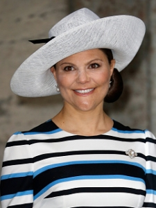 Crown Princess Victoria, April 30, 2016 in Philip Treacy | Royal Hats