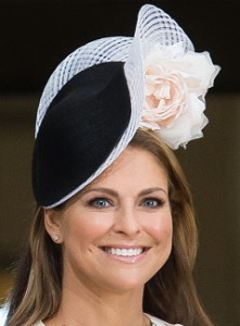 Princess Madeleine, April 30, 2016 in Philip Treacy | Royal Hats