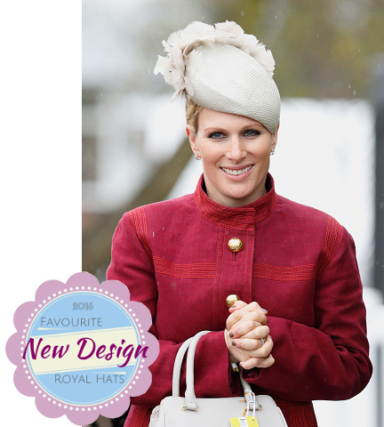 Zara Phillips Tindall, April 9, 2016 in Rosie Olivia | Royal Hats