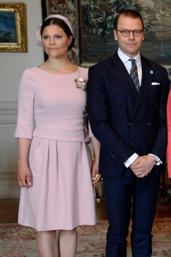 Crown Princess Victoria, May 10, 2016 in Philip Treacy | Royal Hats