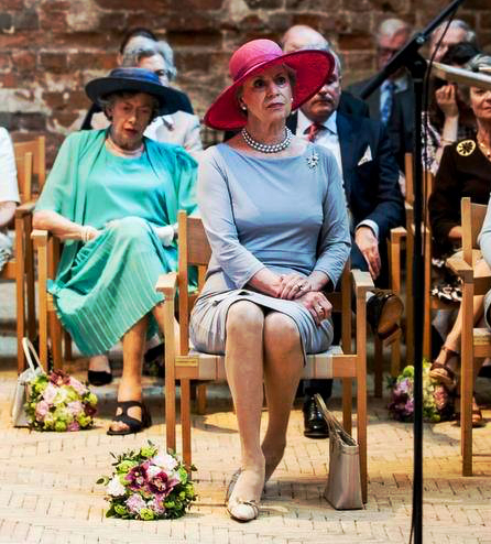 Princess Benedikte and Princess Elisabeth, May 12, 2016 | Royal Hats