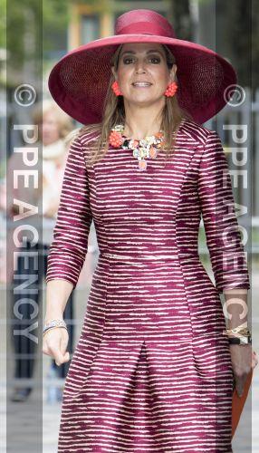 Queen Máxima, May 19, 2016 in Fabienne Delvigne | Royal Hats