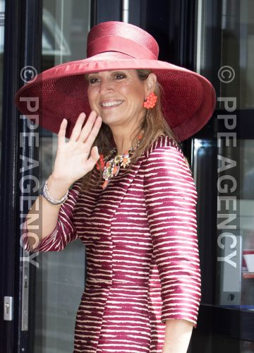 Queen Máxima, May 19, 2016 in Fabienne Delvigne | Royal Hats