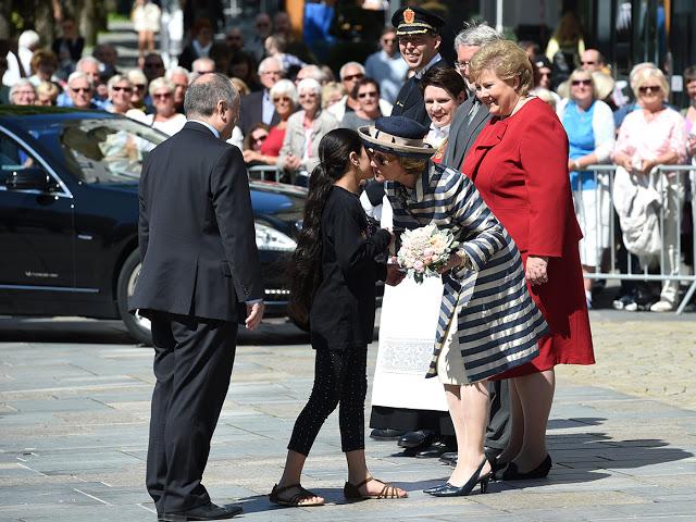 Queen Sonja, May 25, 2016   Royal Hats