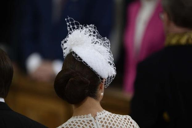 Crown Princess Victoria, May 27, 2016 in Philip Treacy | Royal Hats