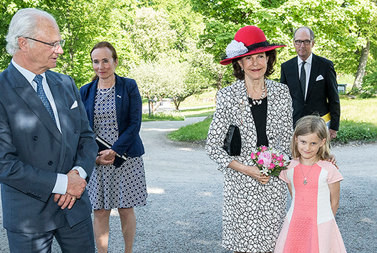 Queen Silvia, May 30, 2016 | Royal Hats