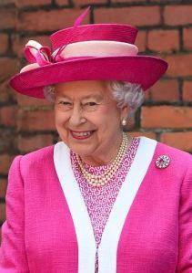 Queen Elizabeth, May 6, 2016 in Rachel Trevor Morgan | Royal Hats