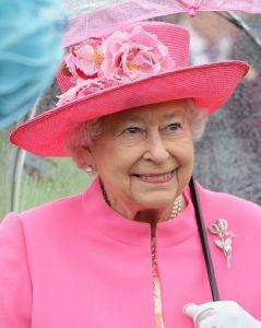 Queen Elizabeth, May 10, 2016 in Rachel Trevor Morgan | Royal Hats