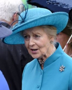 Princess Alexandra, May 10, 2016 in Rachel Trevor Morgan | Royal Hats