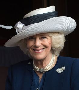 Duchess of Cornwall, May 10, 2016 in Philip Treacy | Royal Hats