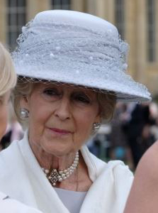 Princess Alexandra, May 12, 2016 in Rachel Trevor Morgan | Royal Hats