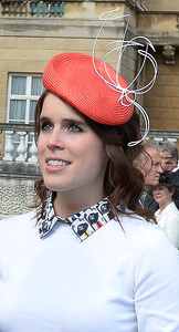 Princess Eugenie, May 24, 2016 in Sarah Cant | Royal Hats