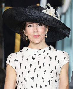 Crown Princess May, May 27, 2016 in Susanne Juul | Royal Hats