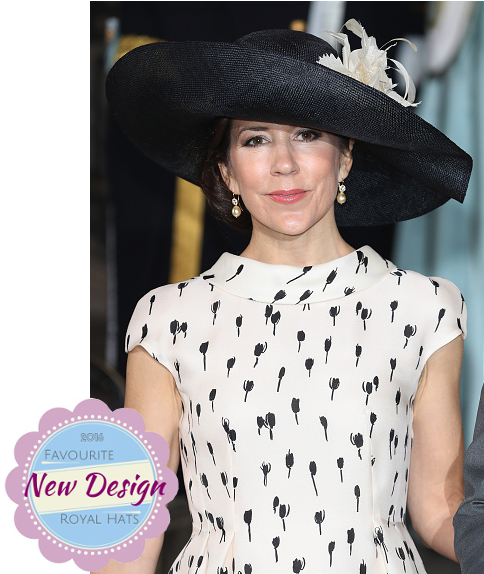 Crown Princess Mary, May 27, 2016 in Susanne Juul | Royal Hats