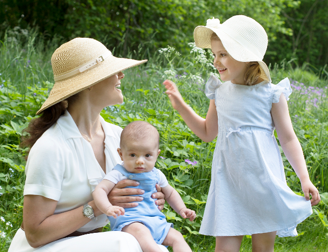 Crrown Princess Victoria and Princess Estelle, June 6, 2016 | Royal Hats