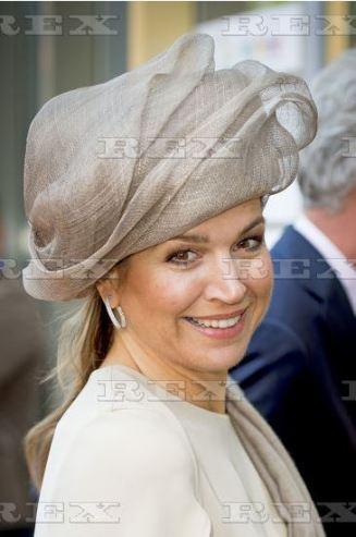Queen Máxima, June 9, 2016 in Fabienne Delvigne | Royal Hats