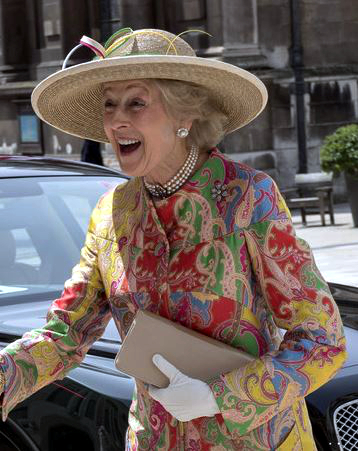 Princess Alexandra, June 10, 2016 in Rachel Trevor Morgan | Royal Hats