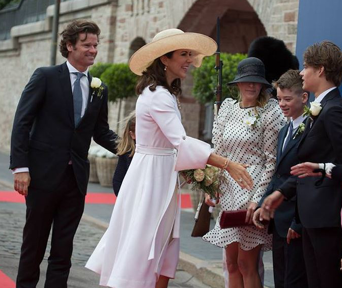 Crown Princess Mary,  June 13, 2016 in Susanne Juul | Royal Hats