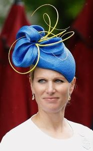 Zara Tindall, June 14, 2016 in Rosie Olivia | Royal Hats