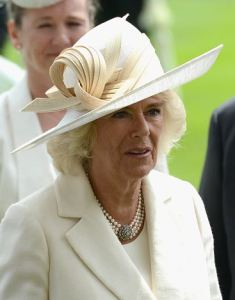 Duchess of Cornwall, June 15, 2016 in Philip Treacy | Royal Hats