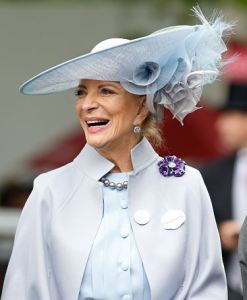 Princess Michael of Kent, June 16, 2016 in Philip Treacy | Royal Hats