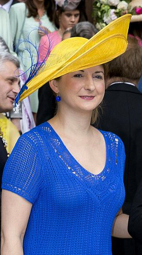 Hereditary Grand Duchess Stéphanie, June 18, 2016 | Royal Hats