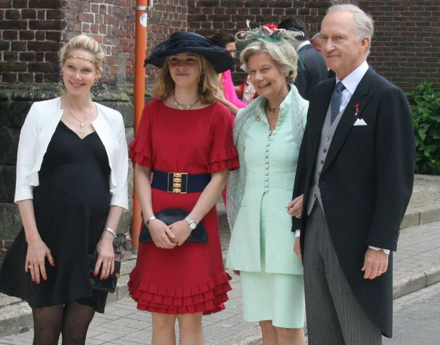 Countess Marie-Christine de Limburg-Stirum, Archduchess Gabriella and Archduchess Marie Astrid, June 18, 2016 | Royal Hats