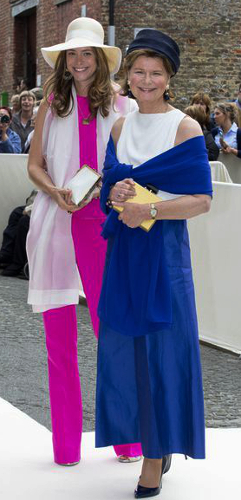 Princess Margaretha and Princess Anunciata of Liechtenstein, June 18, 2016 | Royal Hats