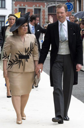 Grand Duchess Maria Teresa, June 18, 2016 in Philip Treacy | Royal Hats