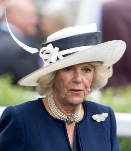 Duchess of Cornwall, June 18, 2016 in Philip Treacy | Royal Hats