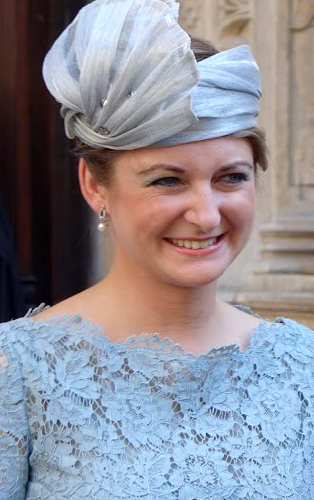 Hereditary Grand Duchess Stèphanie, June 23, 2016 | Royal Hats