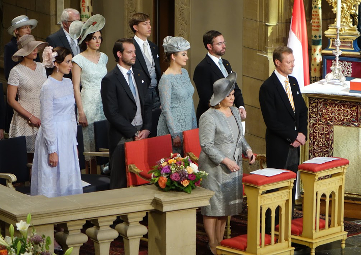 Grand Ducal Family of Luxembourg, June 23, 2016 | Royal Hats