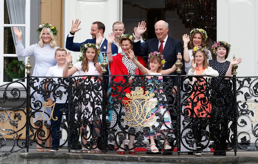 Norwegian Royal Family, June 23, 2016 | Royal Hats