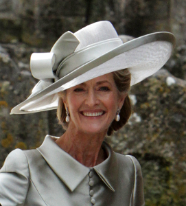 Lady Brabourne, June 25, 2016 in Dillon Wallwork | Royal Hats