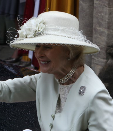 Princess Alexandra, June 25, 2016 in Rachel Trevor Morgan | Royal Hats