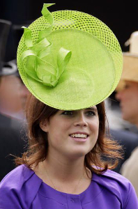 Princess Eugenie, June 18, 2009 in Stephen Jones | Royal Hats