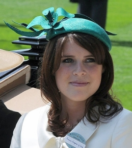 Princess Eugenie, June 14, 2011 in Stephen Jones | Royal Hats
