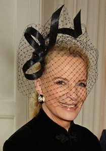 Princess Michael of Kent, June 1, 2016 in Philip Treacy| Royal Hats