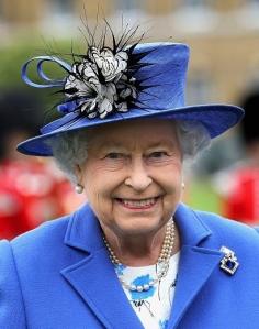 Queen Elizabeth, June 1, 2016 in Rachel Trevor Morgan | Royal Hats