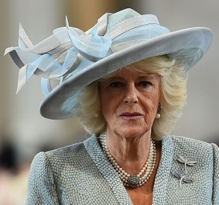 Duchess of Cornwall, June 10, 2016 in Philip Treacy | Royal Hats