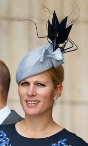 Zara Tindall, June 10, 2016 in Rosie Olivia | Royal Hats