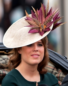 Princess Eugenie, June 11, 2016 in Vivien Sheriff | Royal Hats
