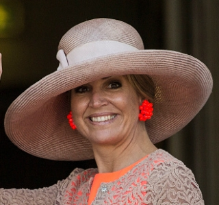 Queen Máxima, June 13, 2016 in Fabienne Delvigne | Royal Hats