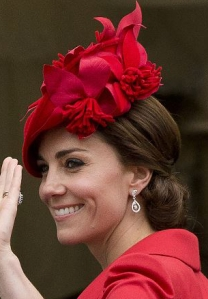 Duchess of Cambridge, June 13, 2016 in Silvia Fletcher for Lock and Co. | Royal Hats