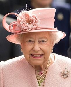Queen Elizabeth, June 22, 2016 in Rachel Trevor Morgan | Royal Hats