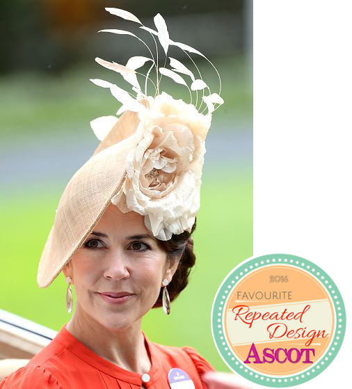 Crown Princess Mary, June 15, 2016 in Jane Taylor | Royal Hats